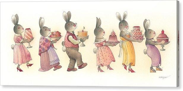 Kestutis Kasparavicius - Rabbit Marcus the Great 1... Print