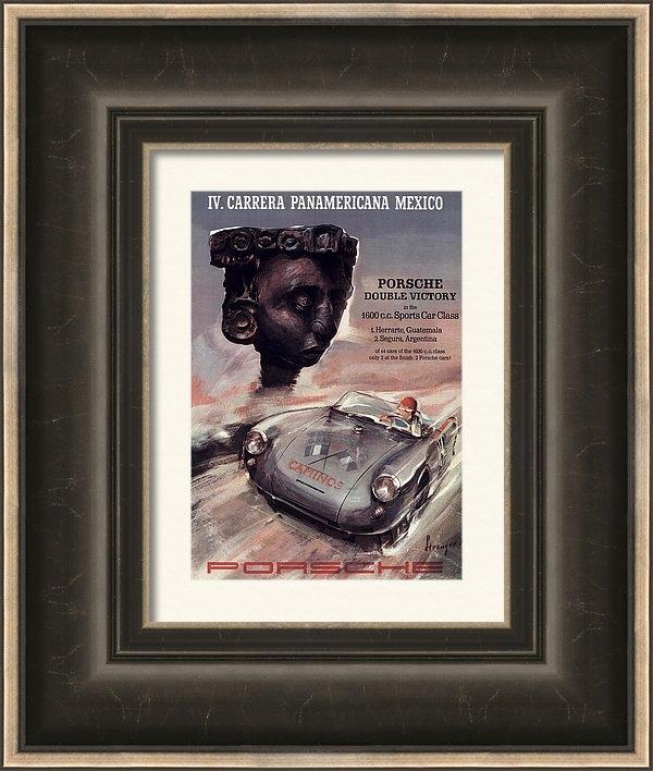 Georgia Fowler - IV Carrera Panamericana P... Print