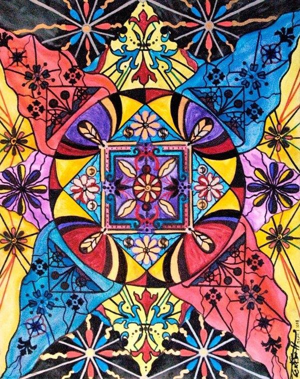 Teal Eye  Print Store - Worldly Abundance Print