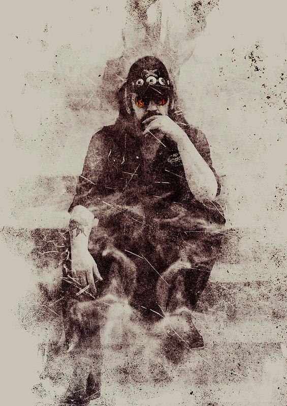 Jarno Lahti - Lemmy Print