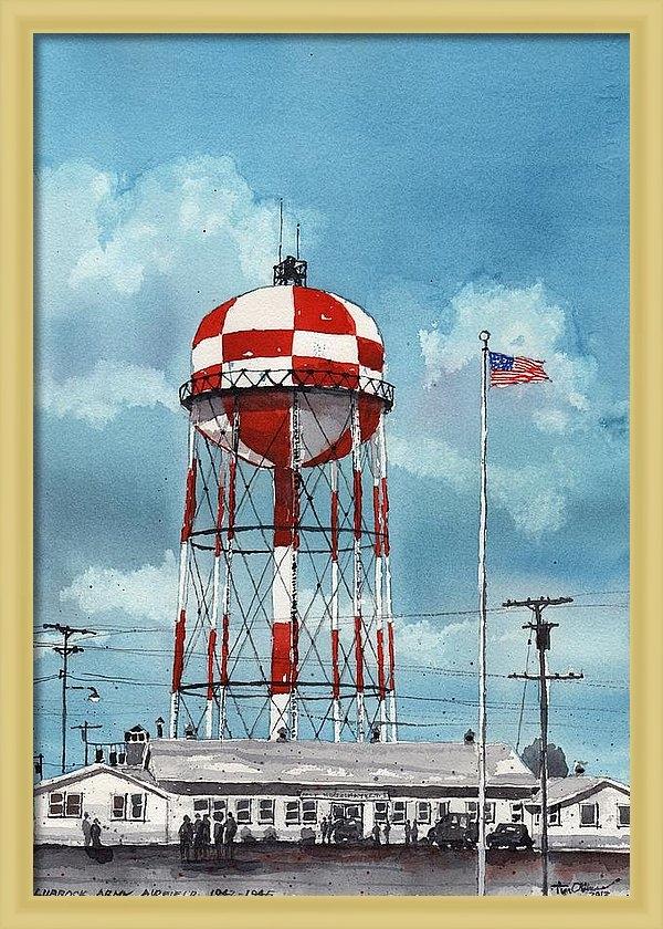 Tim Oliver - Lubbock Army Airfield Tex... Print