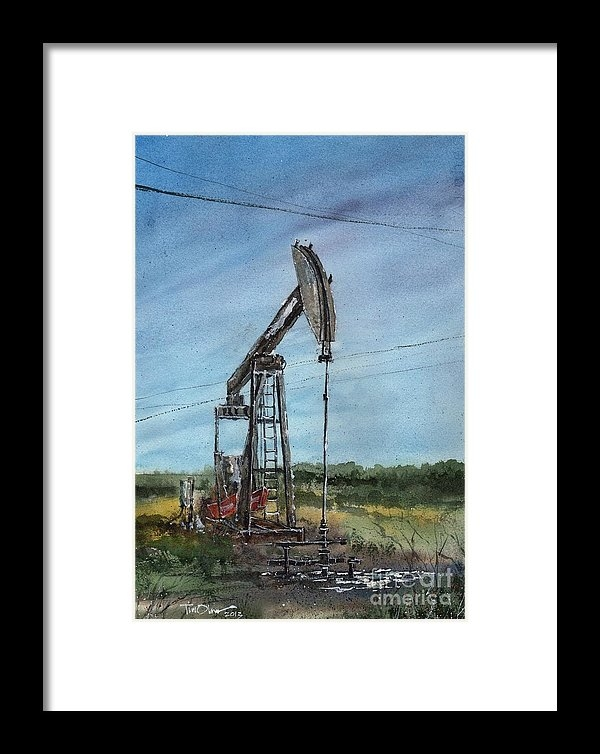 Tim Oliver - West Texas Pumpjack Print