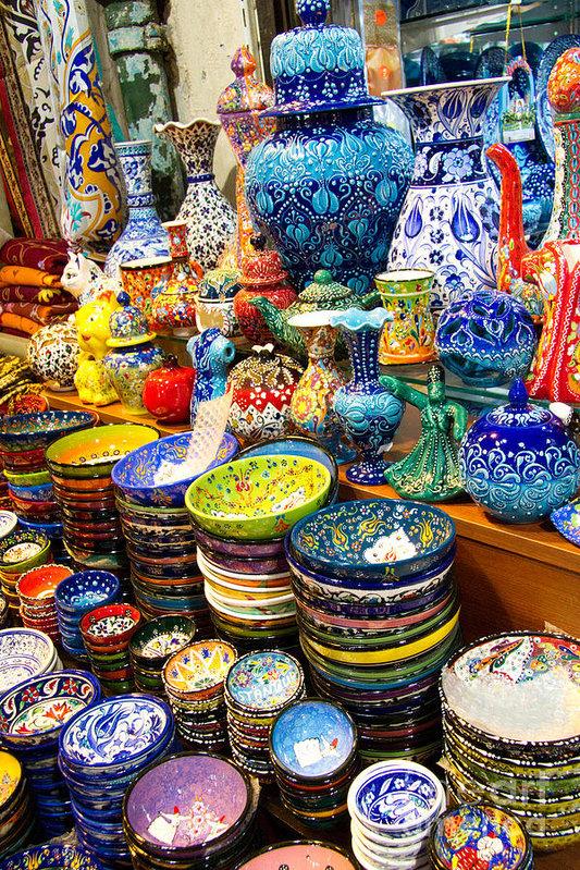 David Smith - Turkish Ceramic Pottery 1 Print