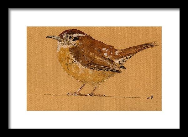Juan  Bosco - Wren bird Print