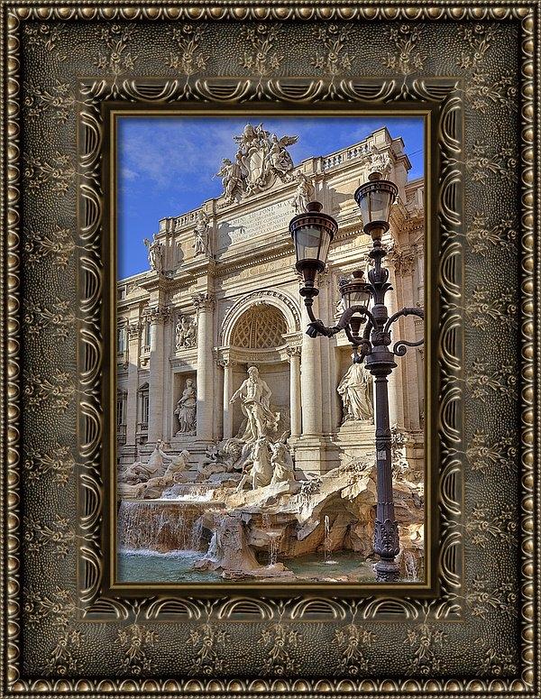 Joana Kruse - Trevi fountain Rome Print