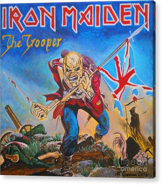 Neal Crossan - Iron Maiden Print