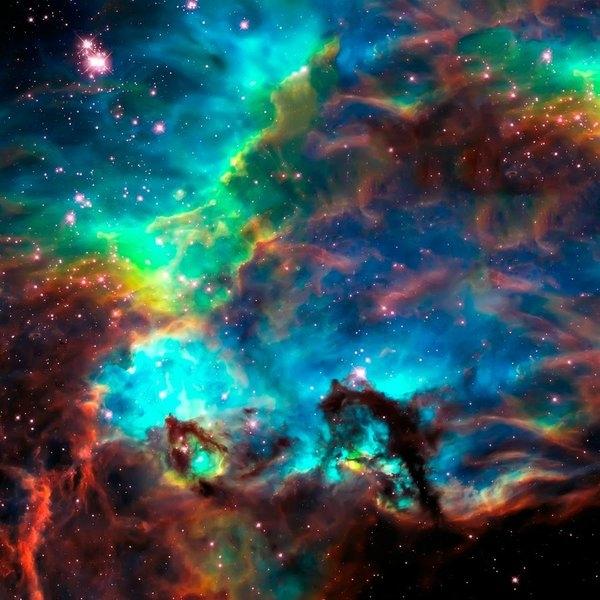 Jennifer Rondinelli Reilly - Fine Art Photography - Cosmic Cradle 2 Star Clus... Print