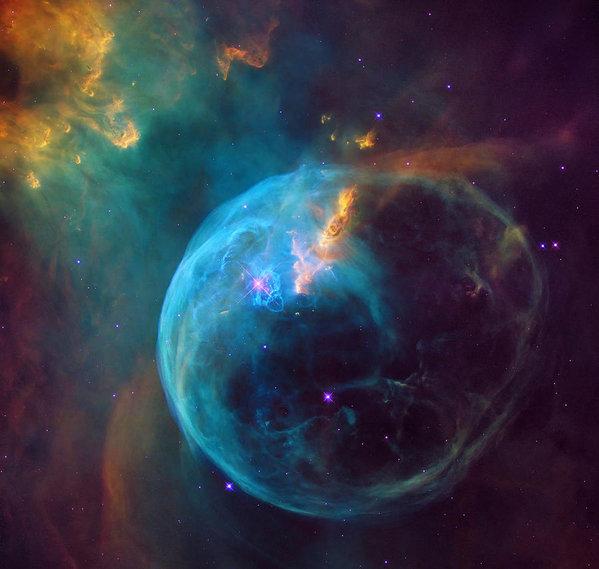 Mark Kiver - The Bubble Nebula NGC 765... Print