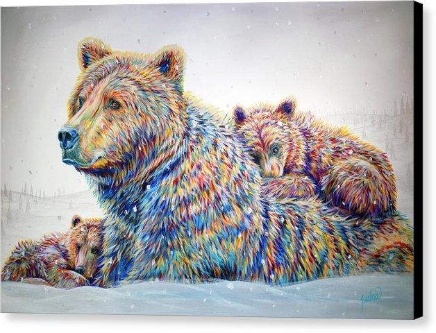 Teshia Art - Winter Wonderland Print
