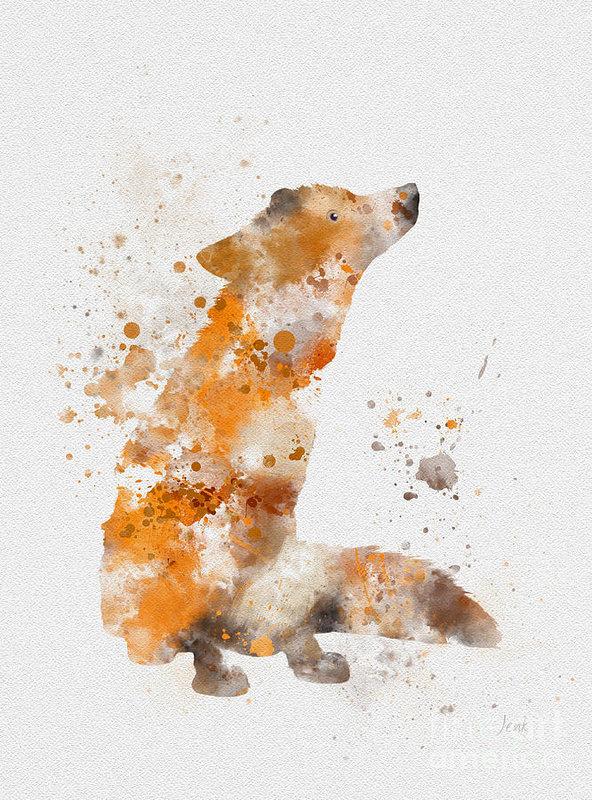 Rebecca Jenkins - Fox Print