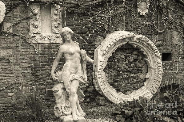 Prints of Italy - Italian Garden Print
