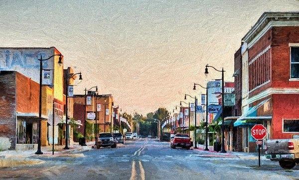 JC Findley - Downtown Paragould Print