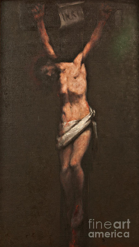 Dan Radi - Jesus dies on the cross Print
