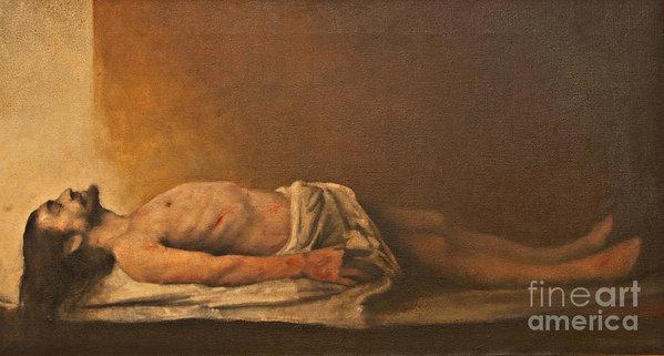 Dan Radi - Jesus is laid in the tomb... Print