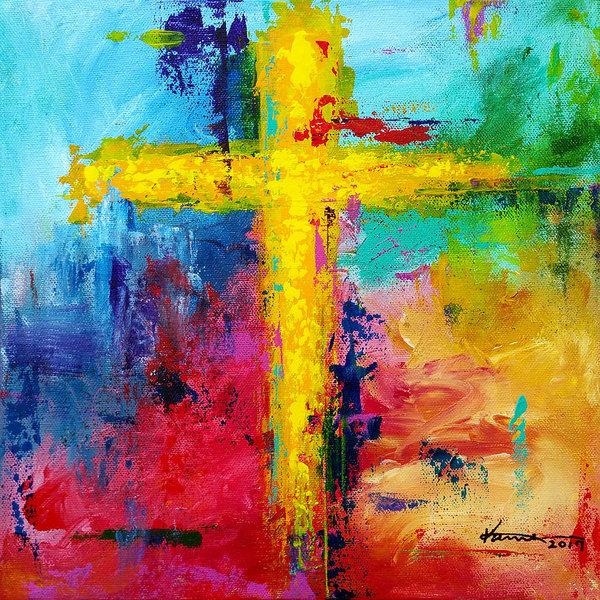Kume Bryant - Cross 7 Print