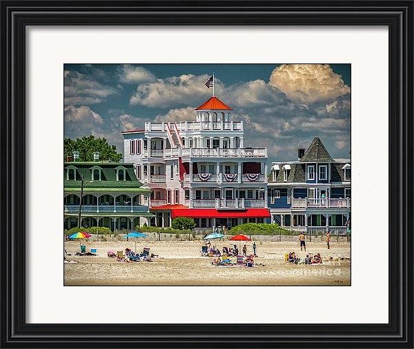 Nick Zelinsky - Sea Mist Resort Cape May Print