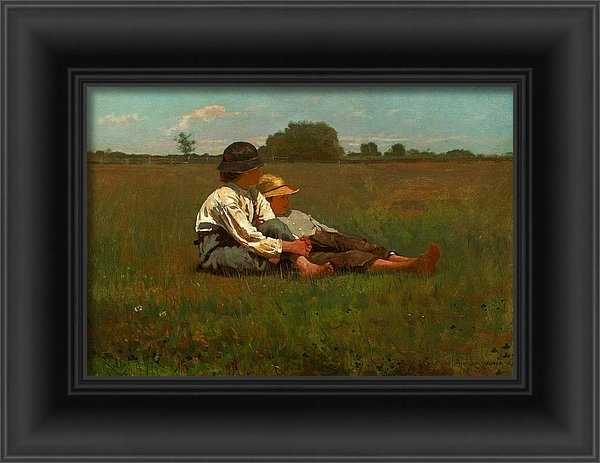 Winslow Homer - Winslow Homer Boys in a P... Print