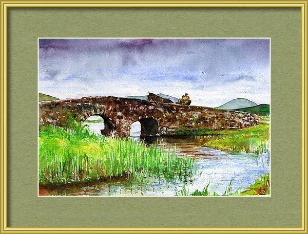 John D Benson - Quiet Man Bridge Ireland Print