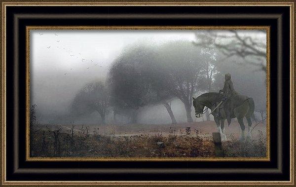 Eve Ventrue - Foggy Print