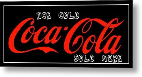Reid Callaway - Ice Cold Coke Coca Cola A... Print
