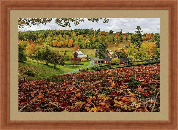 Joe Faragalli - Fall Beauty in Vermont Print