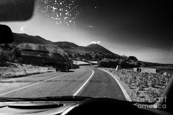 Joe Fox - Driving Along The Coastal... Print