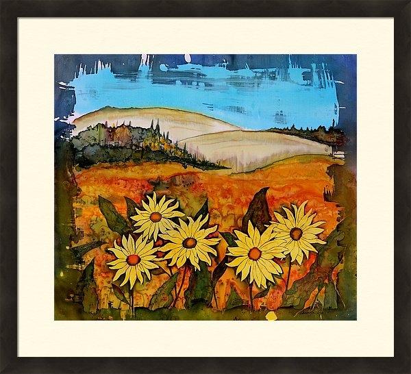 Carolyn Doe - Prairie wildflowers Print