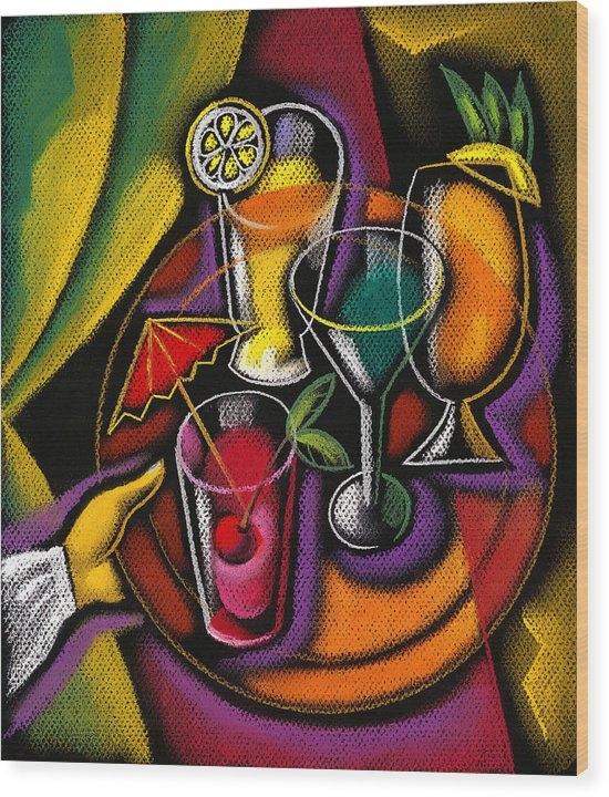 Leon Zernitsky - Drinks Print