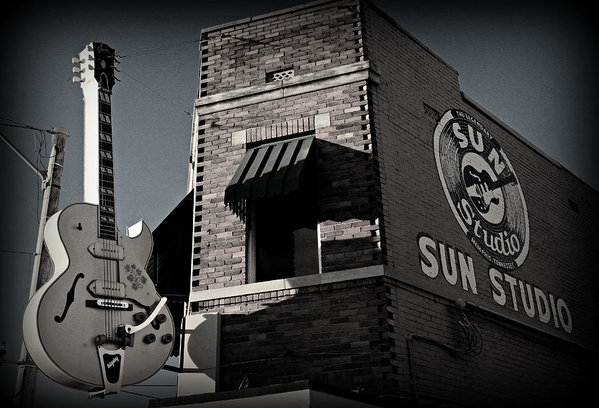 Stephen Stookey - Sun Studio - Memphis Print