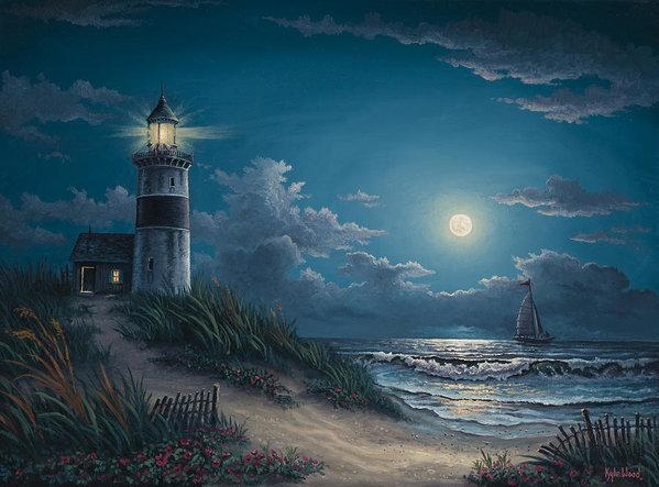 Kyle Wood - Night Watch Print