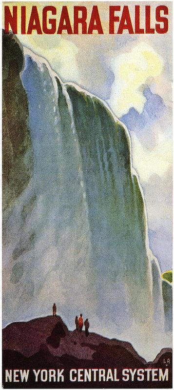 Georgia Fowler - Niagara Falls Print
