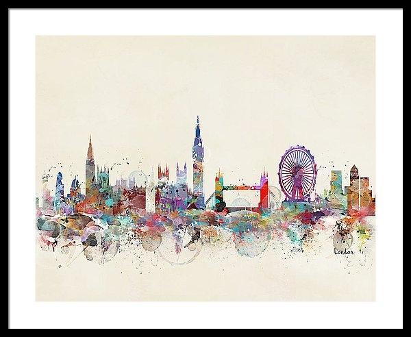 Bri B - London City Skyline Print