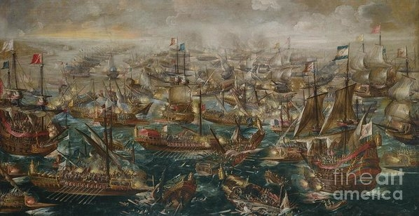 MotionAge Designs - The Battle Of Lepanto And... Print