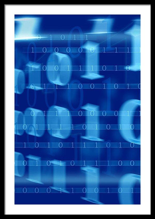 Modern Art Prints - Binary Abstract Print