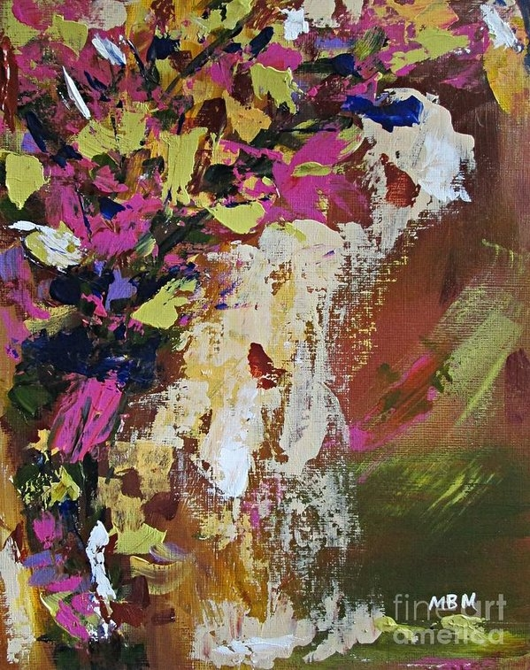 Mary Mirabal - Abstract Floral Study Print