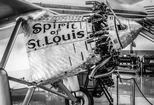 Chris Smith - Spirit of St. Louis Print