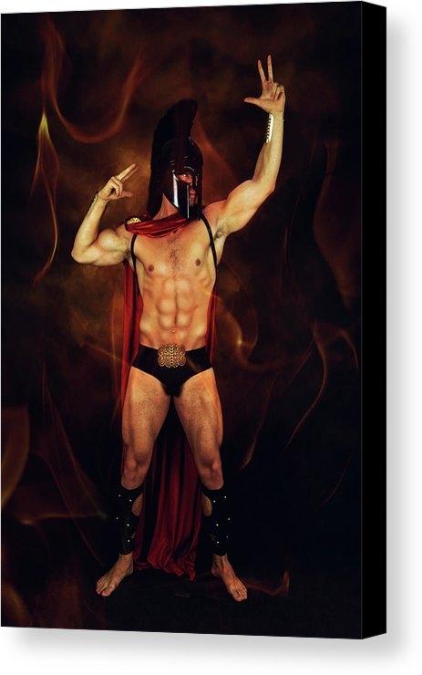 Mark Ashkenazi - Sparta mike  Print