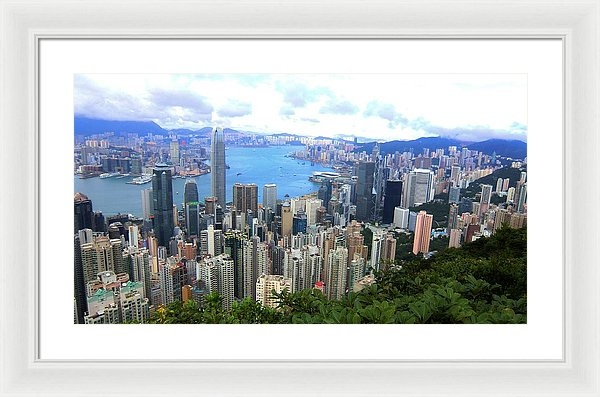 Michael Lai - Hong Kong from Victoria P... Print