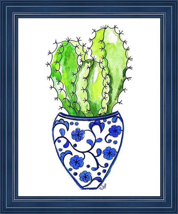 Roleen Senic - Chinoiserie Cactus No3 Print