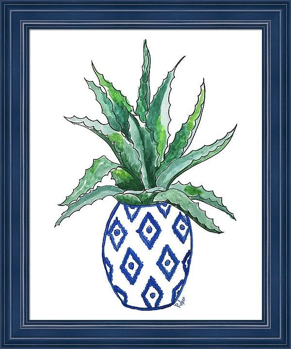 Roleen Senic - Chinoiserie Cactus Print