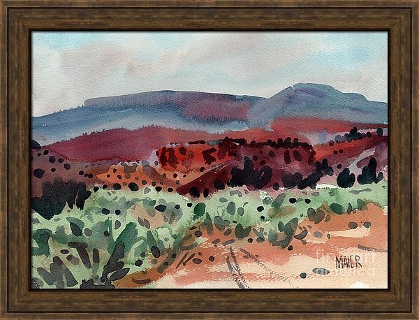 Donald Maier - Sage Sand and Sierra Print