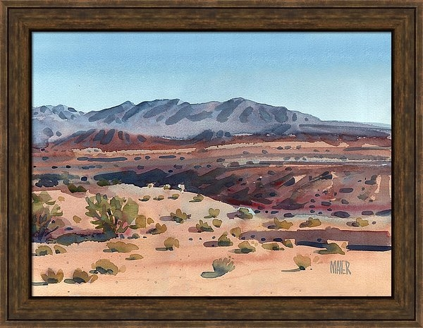 Donald Maier - Desert in New Mexico Print