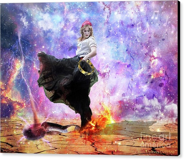 Dolores Develde - Worship Warrior Print