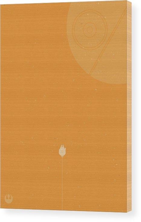 Samuel Whitton - Millennium Falcon Meets D... Print