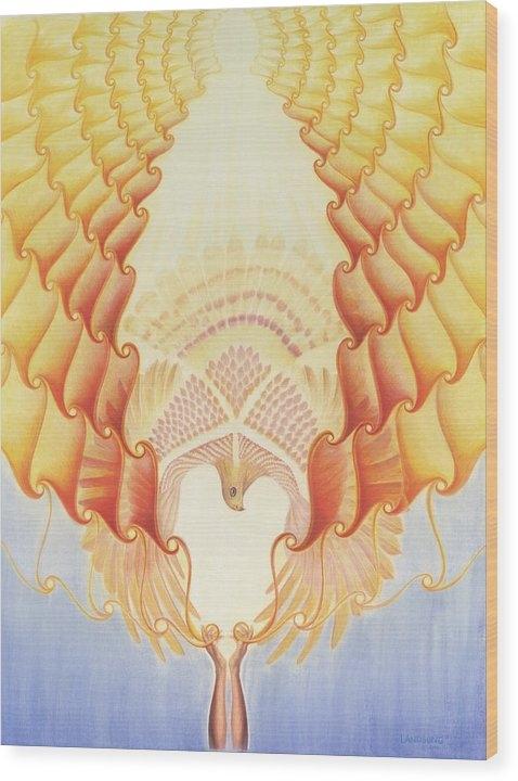 Robin Aisha Landsong - Returning Back to Life Print