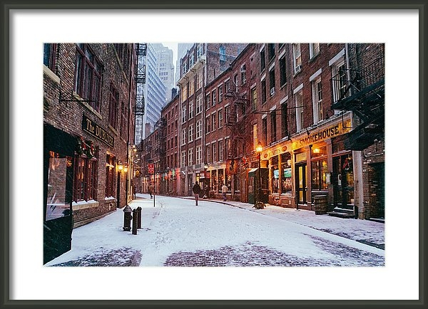 Vivienne Gucwa - New York City - Winter - ... Print