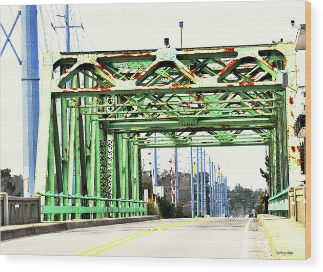 Katheryn Batts - Surf City Swing Bridge Print