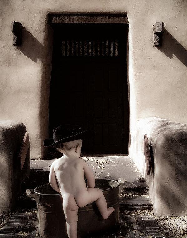 Evan Jones - Bathtime Print