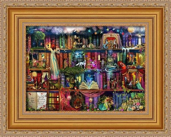 Aimee Stewart - Fairytale Treasure Hunt B... Print