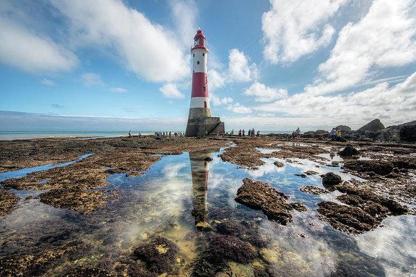 Colin Evans - Beachy Head Lighthouse Print